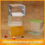 Transparenter Plastikkasten