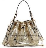As mulheres de prata de moda a mala com sacos One-Shoulder