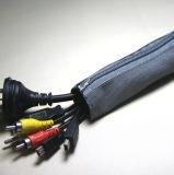 Calzino del cavo con la chiusura lampo per l'ufficio e la gestione domestica del cavo