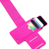 Multi Color Ultrathin Fitness Running Lycra Brazalete Ajustable