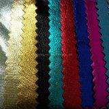 Tela clara elevada das caneleiras do vestido da dança do desempenho de Glid do Knit do estiramento
