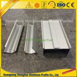 Perfil de alumínio de limpeza anodizada para decoração de sala limpa
