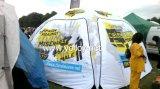 Раздувной шатер выставки Gazebo x для пользы случая