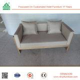 Moldura de madeira sólida + Sofá de dois lugares para estofados de alta densidade