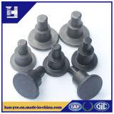 低炭素鋼鉄の黒いめっきのステップリベット