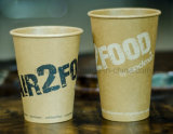 20oz 고품질 Kraft 커피 종이컵