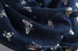 Бабочки хлопка верхнего качества Stole Linen горячие штемпелюя/шарф способа (HWBLC87)