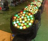 lumière principale mobile d'usager de lumière de disco de lumière de lavage de zoom de l'éclairage DMX de 36PCS*10W RGBW 4in1 DEL
