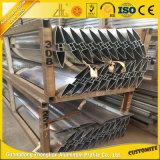 Beancurd de alumínio cobre a grelha de alumínio dos perfis da extrusão