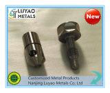 ベテランの研修会CNC機械化サービスステンレス鋼または真鍮かアルミニウム精密CNCの機械化の部品