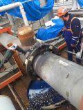 Tuyau hydraulique et électrique de la machine de découpe et de biseau