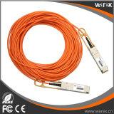 Produto de rede Premium QSFP + para QSFP + Cabo óptico ativo compatível 10m