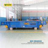 Carro de transferência operado por bateria para equipamento de manuseio de materiais em trilhos