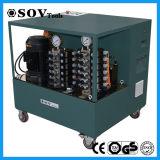 PLC múltiples puntos del sistema hidráulico de elevación sincronizada (SOV-PLC)