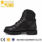 Tactische Laarzen van de Militaire politie van de goede Kwaliteit de Zwarte