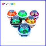 Six LED et compteur numérique Power Force Gyro Ball