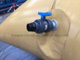 serbatoio di acqua del PVC 1200GSM con colore giallo