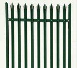 柵の塀または錬鉄の塀のパネル