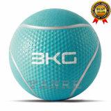 Nuevo diseño del equipo de Crossfit fitness gimnasio patentada de goma suave balón medicinal