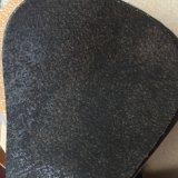 Couro sintético do plutônio para o sofá da mobília que faz Hx-F1740
