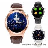 銀、黒、Rose 金Stainless 鋼鉄革腕時計2016年