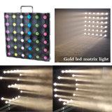 Illuminazione della fase della lavata LED del fascio del comitato della tabella dell'oro LED