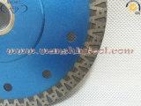 Thin Turbo Saw Blade para lâmina cerâmica de serra de diamante para grés de porcelana