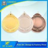工場価格の安い価格(XF-MD32)のカスタム金属の記念品メダル