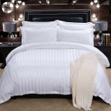 Комплект постельных принадлежностей нашивки египетского хлопка собрания гостиницы самый лучший