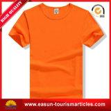 Personnaliser le T-shirt d'hommes de collet du logo V avec du matériau de coton