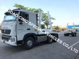Cimc de Houten Chassis van de Aanhangwagen van de Vrachtwagen van het Logboek van het Registreren van het Vervoer