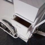 De batterij stelt de Gebraden Driewieler van de Diepvriezer van de Kar van het Roomijs in werking