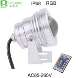 10W IP68 DC12V RGB reflector LED