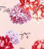 Платье девушки с цветками Prinitng