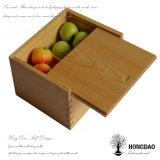 Doos van de Vruchten van de Douane van Hongdao de In het groot Houten, Opslag Box_D
