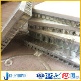 Panneau en pierre de marbre de nid d'abeilles pour le matériau décoratif de construction avec le prix bas
