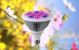 12W E27 de la planta de LED de luz para crecer de efecto invernadero de jardín hidropónico