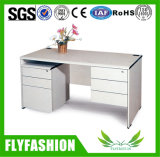 Moderne Sekretärin-Arbeitsschreibtisch-elfenbeinfarbener Büro-Möbel-Holz-Tisch der Qualitäts-Od-08
