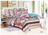 新しい寝具の一定の対のサイズ4PCの羽毛布団カバー一定のMicrofiberの極度の柔らかい生命