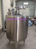 Aquecimento sanitário de aço inoxidável e tanque de mistura de ingredientes
