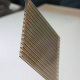 Strato gemellare 100% del policarbonato della parete del Bayer del Virgin di Lexan dei materiali da costruzione