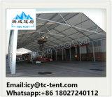 barraca do armazém do armazenamento da estrutura do alumínio de 20X80m grande com parede contínua