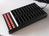 コースターのポケットベルで連絡するサービスシステム待ち行列管理1のキーパッド25のポケベル