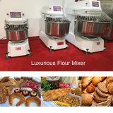 mezclador lujoso del espiral del equipo de la panadería de 50kg 130L con el temporizador