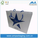 Anunció la bolsa de papel al por mayor barata de Kraft en Dongguan