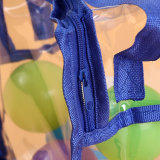 Transparent PVC Trumpet Small Gift Bag