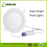 El kit ahuecado cuadrado 18W del dispositivo de iluminación calienta la luz del panel blanca del LED