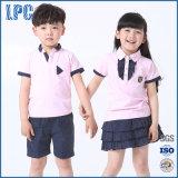 夏の子供の2017人の新しい男の子および女の子の学生服