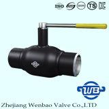 Soldado completamente la válvula de bola de bola flotante para la naturaleza del gas