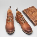 La nuova caviglia caric il sistemaare l'alta qualità Lace-up per i pattini degli uomini (AKPX16)